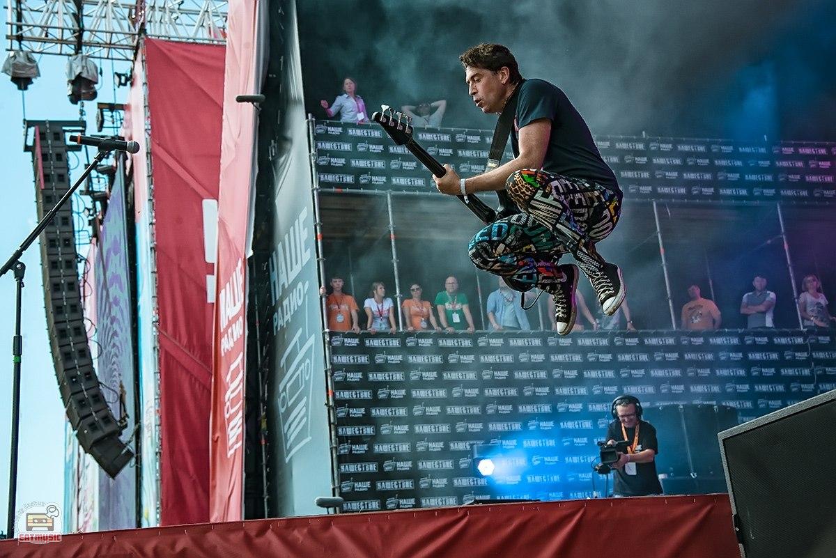 Группа Ногу Свело! на фестивале НАШЕСТВИЕ 2016