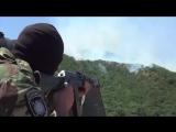 Оперативные съемки. ФСБ. Уничтожение боевиков. в р-не н.п. Талги