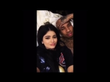 Kylie Jenner and Tyga cute moments