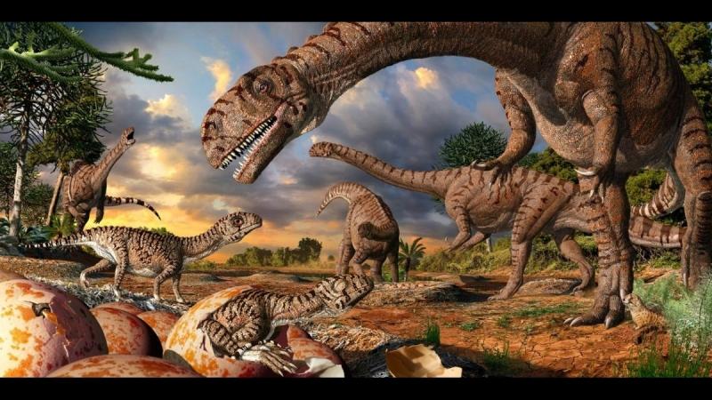 Прогулки с динозаврами. Фильм 6