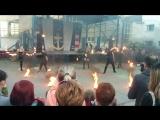Reflection Fire Show в Шлиссельбурге. День Речника 2017. (Огненное шоу)