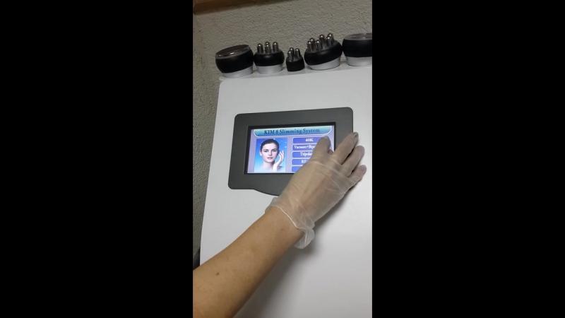 Обзор аппарата для кавитации SA-6048 Kim 8 Slimming System