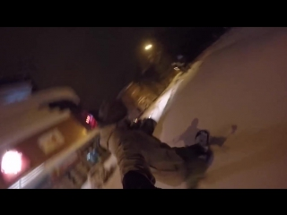 snowboarding in Poltava city