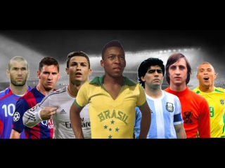 ТОП-20 игроков в истории футбола • HD
