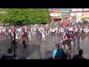 Вальс на площади Конаково школа №2 последний звонок 25.05.2017
