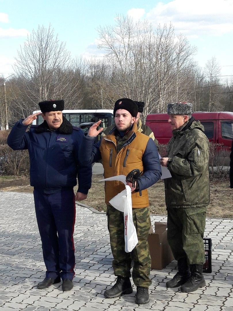 Команда Узловского казачества заняла первое место