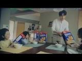 Закадровые со съемок рекламы хлопьев Corn Flight