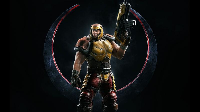 Quake Champions закрытый бета тест :-3