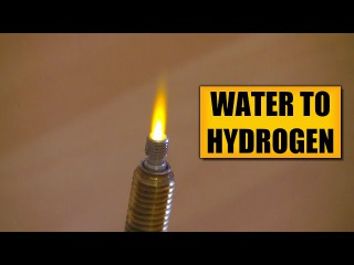 Water electrolysis : DIY Experiments [5] Make hydrogen / Brown's Gas / HHO generator / Oxyhydrogen