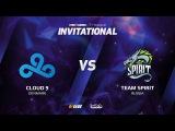 Cloud 9 vs Team Spirit, Game 1 SL i-League Invitational S2, EU Qualifier