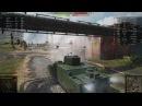 World of Tanks КВ-2 убил пт10 с выстрела, эпичные выстрелы на бабахах