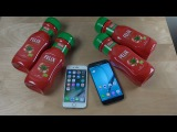 iPhone 7 vs. Samsung Galaxy S7 Ketchup Freeze Test 19 Hours! Who Is Best!