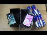 iPhone 7 vs. Samsung Galaxy S7 Red Bull Freeze Test! Will They Survive