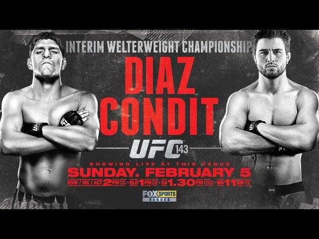 Carlos Condit vs Nick Diaz [FIGHT HIGHLIGHTS]