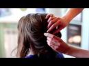 Прическа за 10 минут - легко! или Как легко и красиво собрать волосы в стильную при...