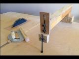 4 in 1 Workshop Accessories (blade guide, miter gauge, crosscut sled) - 4 in 1