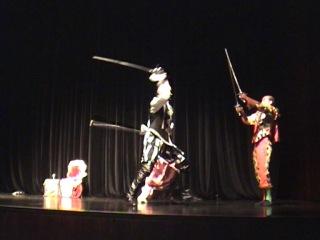 7 минут смутного времени. Студия арт-фехтования Эспада. Германия 2011 год