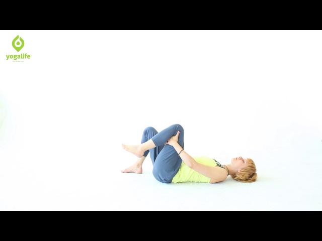 Упражнения для тазобедренных суставов помогут снять напряжение и расслабить область таза. Yogalife