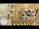 Деревянный Конструктор - UGEARS - ЭТО ШЕДЕВР! - Полный обзор конструктора