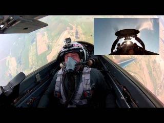 Полет на МиГ-29 в стратосферу российского туриста. Полеты на истребителях Май 2015
