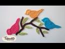 Pajaritos amigurumi tejidos a crochet English subtitlles amigurumi birds