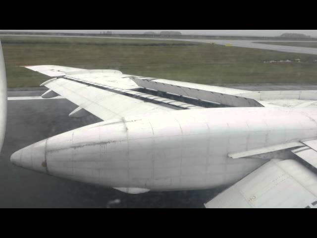 Tu-154m RA-85751 Landing at TJM in 19 Sep 2015