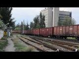 2ТЭ116-1347/701 с грузовым поездом с ст.Бердянск