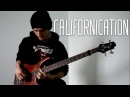 Red Hot Chili Peppers - Californication (solo bass cover / arrangement)