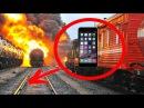 ЧТО ЕСЛИ ПОЕЗД ПЕРЕЕДЕТ iPhone 6s