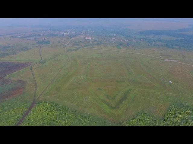 Крепость Кондурча с высоты птичьего полета