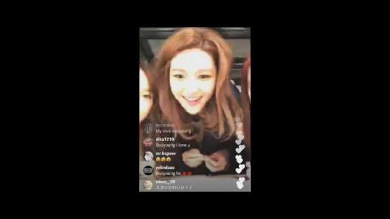 [소녀시대] 170207 티파니 인스타 라이브 FULL ver. (댓글포함)