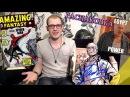 Распаковка комиксов. Автограф Стэна Ли, Египетская Сила, Bubble и Amazing Fantasy 15..