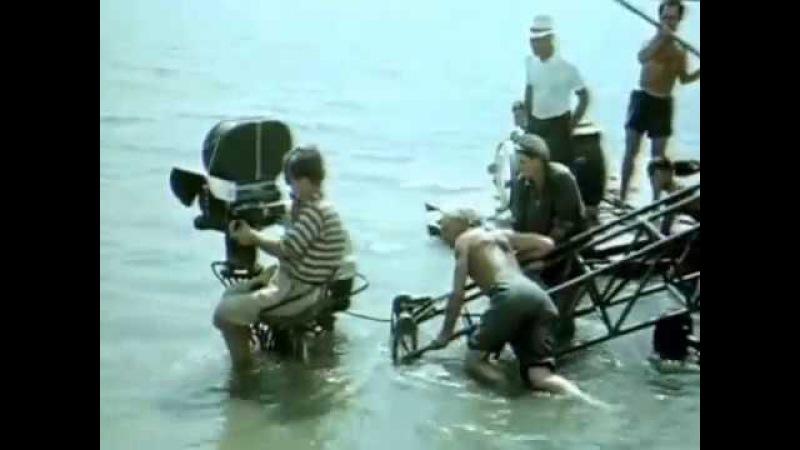 На съёмках фильма Сергея Герасимова Тихий Дон 1957