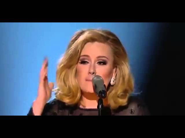 Adele Rolling in the Deep GRAMMYs 2012.mp4