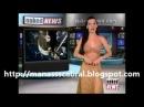 Naked Girl on the News