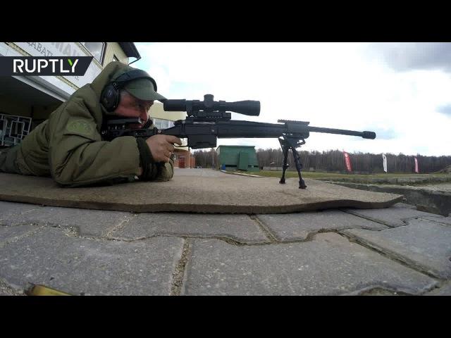 Испытания новейшей снайперской винтовки Точность прошли в Подмосковье