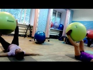 Pilates с Анной в скайфит