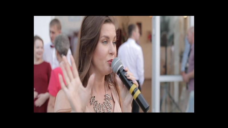 Живой вокал на свадьбе Елены и Михаила