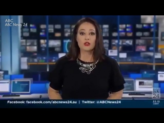 Телеведущая не заметила, как вышла в эфир и испугалась