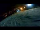 После работы вечером на лыжи ) )