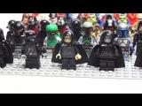 LEGO Star Wars минифигурки. Лего Звездные войны темная сторона силы
