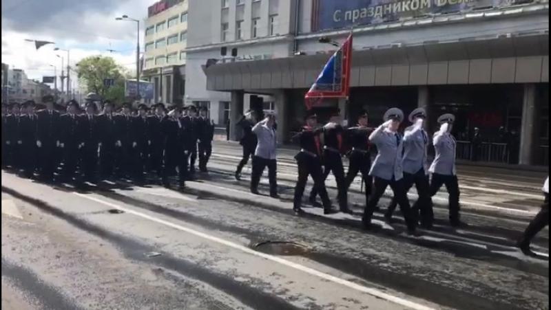Парад Победы 2017 КФ СПбУ МВД России
