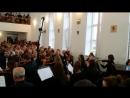 Пасхальное служение в Нежине 17.04.2017г (вид с хора)