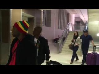 Jamaicano @AxeManWalters llegó a Las Vegas para Vasyl Lomachenko @CanalDeBoxeo