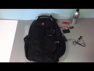 Обзор швейцарского рюкзака со скидкой