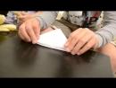 Бумажные кораблики Инструкция