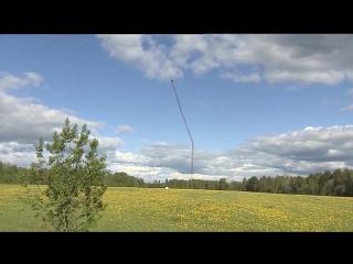 Башню высотой 350 метров в Костромской области взорвали в прямом эфире
