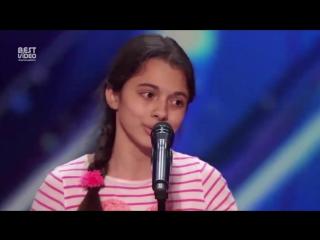 Феноменальное выступление 13-ти летней девочки
