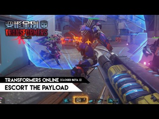 Transformers Online (CN) - Escort the Payload mode (Closed Beta 3)