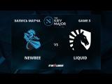 Newbee vs Liquid, Game 3, The Kiev Major Play-Off 1/8
